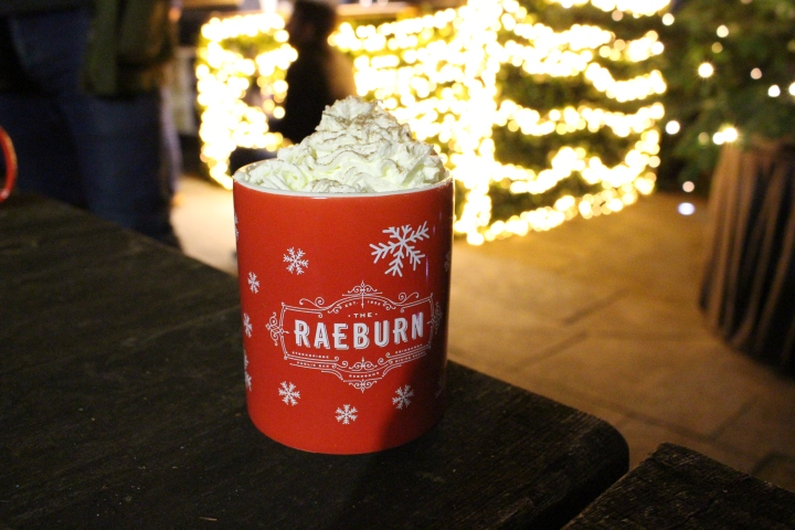 The Raeburn Edinburgh Hot Chocolate Talor Gilchrist