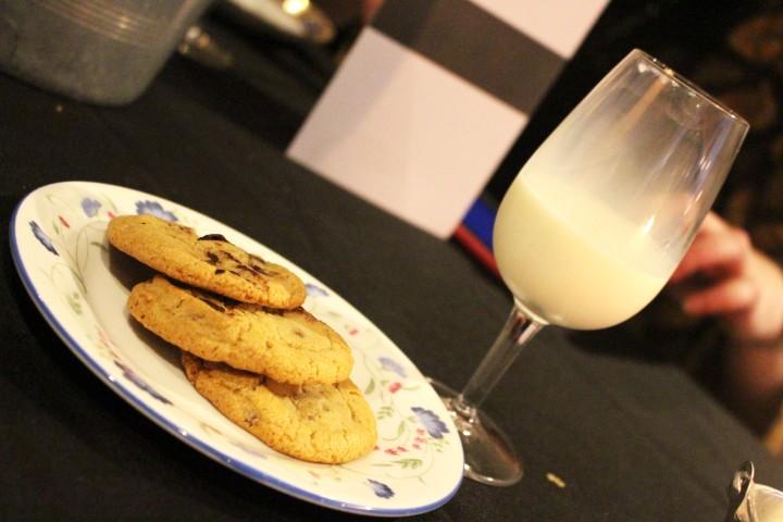 Grahams Dairy milk and cookies